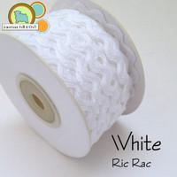 White Ric Rac