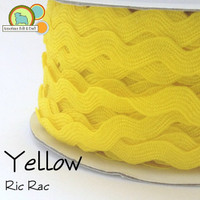 Yellow Ric Rac