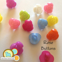 Rose Buttons