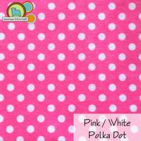 Pink / White Polka Dot