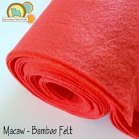 Macaw- Bamboo Felt