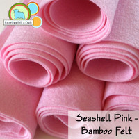 Seashell Pink - Bamboo Felt
