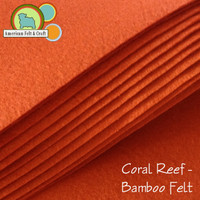 Coral Reef - Bamboo Felt