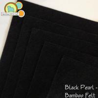 Black Pearl - Bamboo Felt