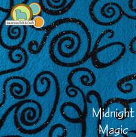 Midnight Magic - Acrylic Print Felt