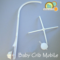 Parts for baby crib mobile