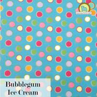 Bubblegum Ice Cream - Printed acrylic felt.
