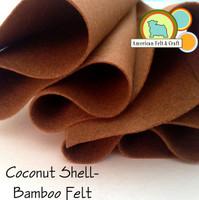 Coconut Shell - Bamboo Felt