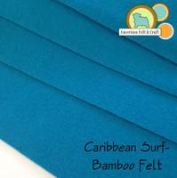 Caribbean Surf- Bamboo Felt