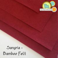 Sangria - Bamboo Felt