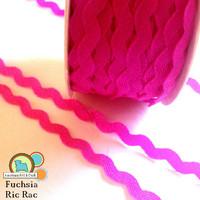 Fuchsia Ric Rac