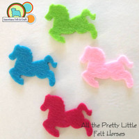All the Pretty Little Felt Horses