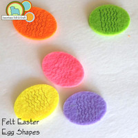 Felt Easter Egg Shapes