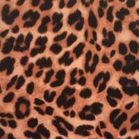 Cheetah Print Acrylic Felt