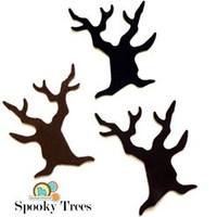 Spooky Tree Shapes