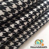 Houndstooth - Print Felt