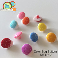 Color Bug Buttons