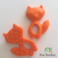 Silicone Fox Teether - 3 colors