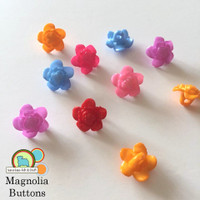 Magnolia Buttons