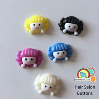 Hair Salon Buttons- 5