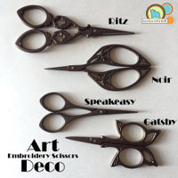 Art Deco Scissors