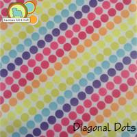 Diagonal Dots- Acrylic Print Felt