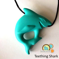 Shark Teether -silicone