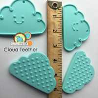 Cloud Teething pendant -silicone