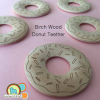 Wooden Donut Teether