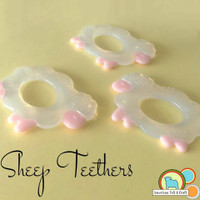 Silicone Sheep Teether