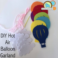 Hot Air Balloon Garland DIY