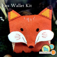 Fox Wallet Crafting Kit