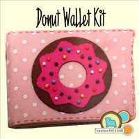 Donut Wallet Crafting Kit