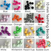 10 mm teething beads