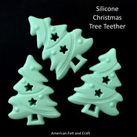 Christmas Tree  Teether -Silicone