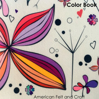 Color Book - felt sheet