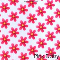 Pink Daisy - felt print