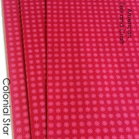 Colonial Star Print Felt