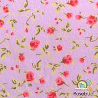 Rosebud- felt print -NEW