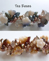 Hawaiian Lei Bracelet Kit - Tea Roses