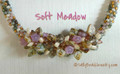 Necklace KIT - Focal Cluster - Soft Meadow