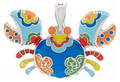 Patchwork Quilt - Crabby Necklace Kit