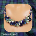 Tartan Plaid - Necklace Kit