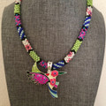Patchwork Hummingbird - Necklace Kit