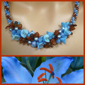 Blue Lily - Necklace Kit