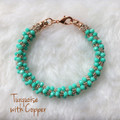 One x Two - Turquoise w/Copper