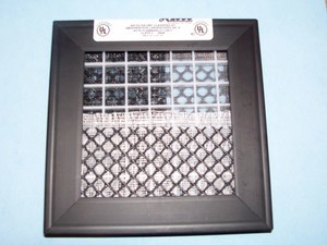 Cut out of 12x20 A+2000 Permanent Electrostatic Filter.