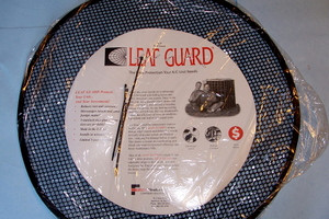 "30"" Leaf Guard for maximum ac protection. Installs in minutes. 5 Year Warranty."