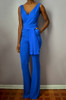 Sweetheart Flare Jumpsuit (Front Side)