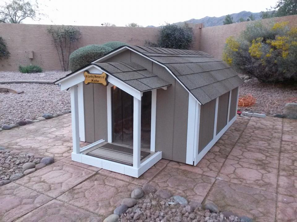 air conditioned dog houses heated and cooled dog house With ricky lee s dog houses